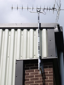 Industrial Aerial installation in Leicester